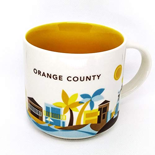 New 2013 Collection - Starbucks New 2013 You Are Here Collection Orange County 14 Oz