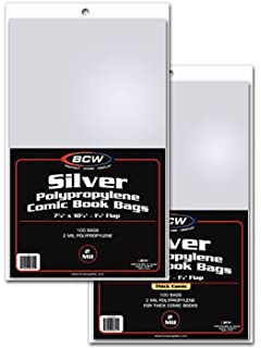 Silver Age Comic Bags And Backer Boards