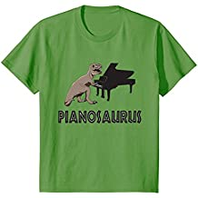 Funny Piano T-Shirt Pianosaurus Rex Gifts for Piano Players