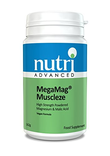 MegaMag Muscleze (Formerly Ultra Muscleze) - 162gram Powder by Nutri Advanced - Magnesium Supplement by MegaMag Muscleze