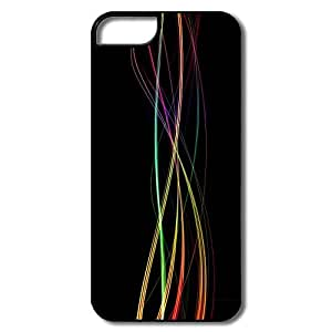 Funny Colorful Light Trails IPhone 5/5s Case For Couples by supermalls