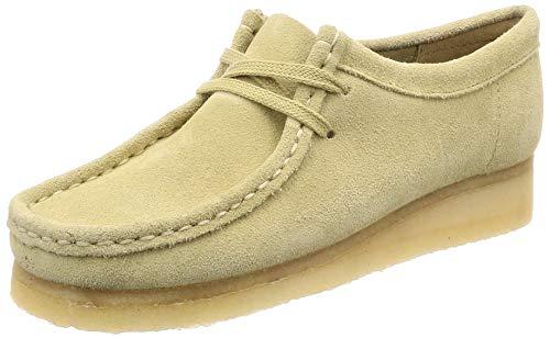 Suede Derby Para Mujer Cordones De maple Maple Wallabee Clarks Originals Zapatos Suede Beige vXwxq1HAB
