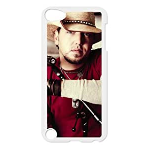 Custom Popular Country Singer Jason Aldean Printed Hard Plastic Back Protective Case for Ipod Touch 5 FC-4