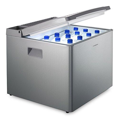 Dometic CombiCool RC 1205 GC – lautlose, elektrische Absorber-Kühlbox mit Platz für Gaskartusche, 40 Liter, 12 V und 230 V für Auto, Lkw und Steckdose