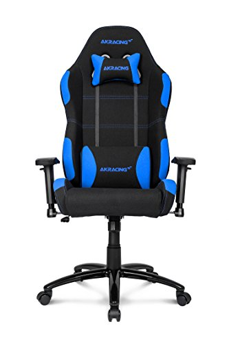 41I3FoBjiML - AKRacing-K-7-Series-Premium-Gaming-Chair-with-High-Backrest-Recliner-Swivel-Tilt-Rocker-and-Seat-Height-Adjustment-Mechanisms-with-510-warranty-Blue