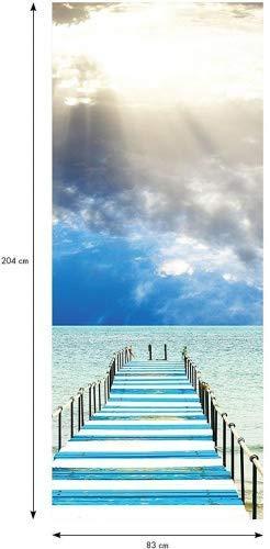 /Pontile Ambiance-Live Adesivo Porta 204/x 83/cm/