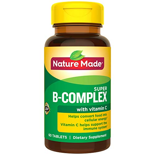 Nature Made Super B-Complex Tablets, 60 Count for Metabolic Health† (Packaging May Vary) in USA