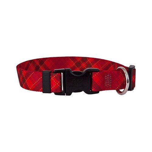 Red Kilt Dog Collar - Size Large 18
