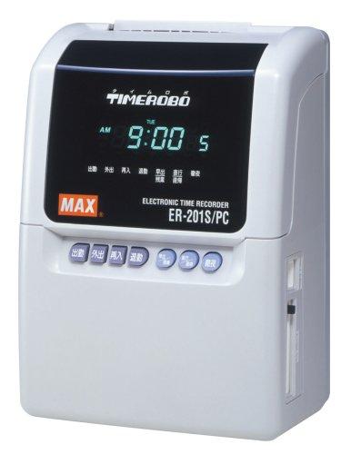 マックス タイムレコーダー ER-201S/PC ER90094 B000FHPWCY