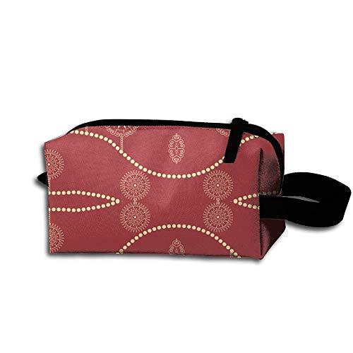 Pencil Bag Cosmetic Travel Waterproof Christmas Case Makeup Quick Beautiful Ornaments qx1F7w8
