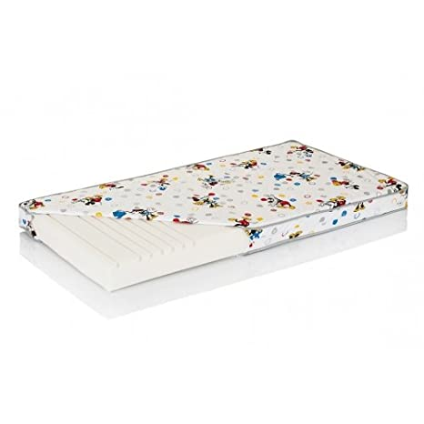 Disney Junior de hevea Lux colchón látex natural (200 x 80 cm), diseño de Mickey: Amazon.es: Bebé