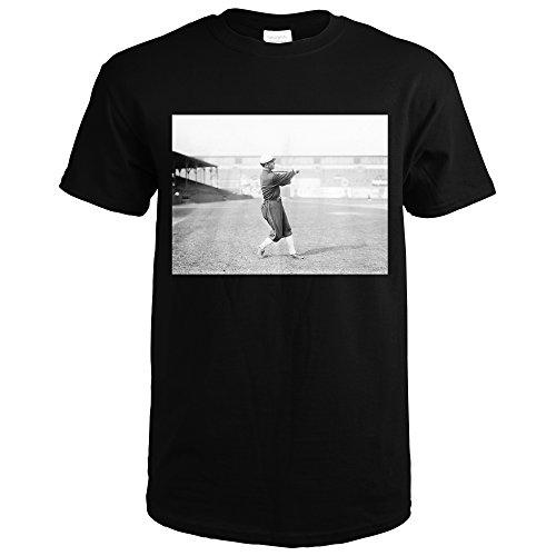 Lantern Press ED Walsh, Chicago White Sox, Baseball Photo (Black T-Shirt (Chicago White Sox Fan Photo)