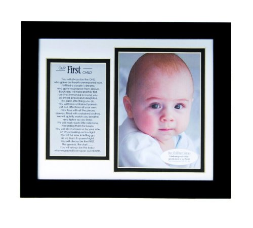 The Grandparent Gift Co. Baby Keepsakes The First Child Frame