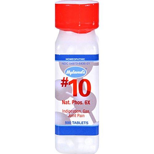 Hyland's No.10 Nat. Phos 6x - 500 - Shopping Nat