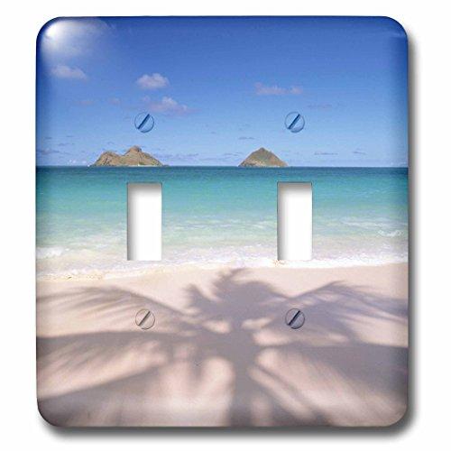 3dRose lsp_89735_2 Lanikai Beach, Kailua, Oahu, Hawaii, Usa Us12 Dpb1580 Douglas Peebles Light Switch Cover by 3dRose