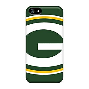 Iphone 5/5s DSy19831WBav Customized High-definition Green Bay Packers Series Bumper Hard Cell-phone Case -KaraPerron