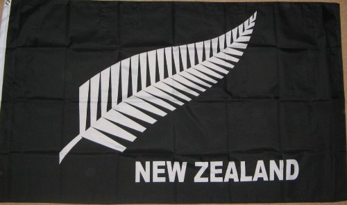 2011 Rugby Union World Cup in New Zealand - Flag Set - 3 Different New Zealand 5'x3' Flags