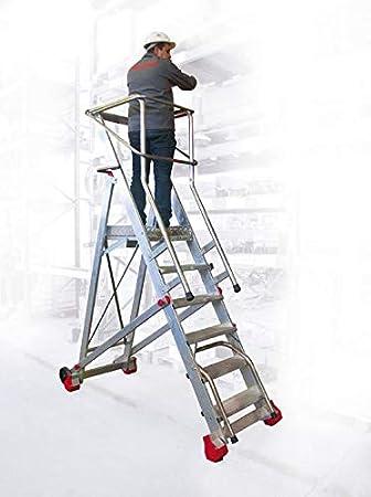 ESCALERA ALMACEN SMT. FARAONE. LCS (400/SMT. 14Peldaños): Amazon.es: Bricolaje y herramientas