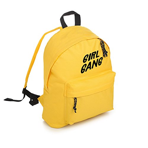 Girl Gang Backpack School Bag Tumblr Hipster Grunge Kawaii Cute Feminist Power