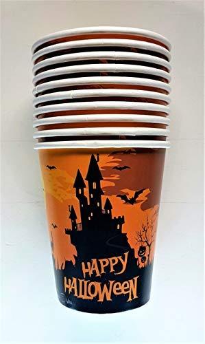 (Givi Italia 52994 Halloween Castle Cups, Multi-Colour, 250)