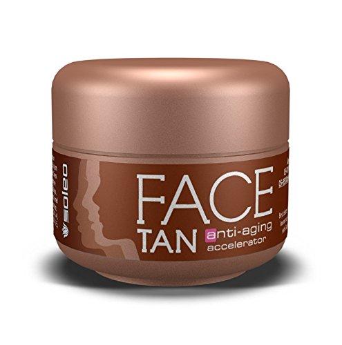 Soleo Special Line Face Tan Anti-Aging Accelerator, 2er Pack (2 x 15 ml)