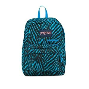 JanSport Digibreak Backpack (MAMMOTH BLUE WILD AT HEART)