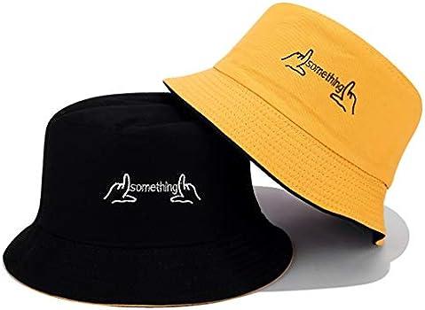 Joylife Embroidered Personalized Bucket Hats Yellow Black