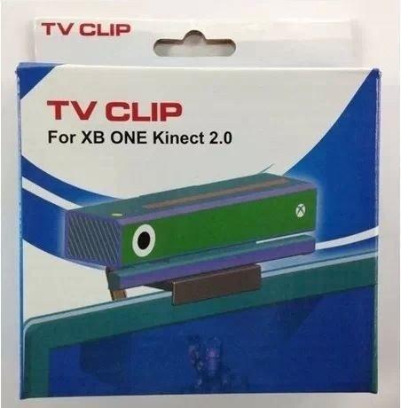 GAMINGER Clip para cámara Kinect 2 de Xbox One - sujetador para cualquier TV LED: Amazon.es: Videojuegos