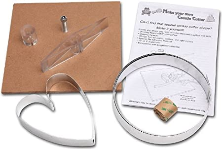 Amazon Com Make Your Own Cookie Cutter Kit L9005 Kitchen Dining
