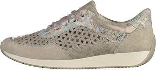 Grey Lissabon Sneaker Women 34020 Ara 12 RaTqC7X