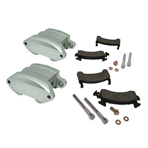 2 Piston Aluminum Calipers - SSBC A181 Quick Change SportTwin Aluminum 2-Piston Caliper Upgrade Kit