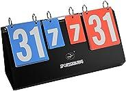 4 Digit Sports Scoreboard, Volleyball Score Flip Chart, scoreboard Flip Sports Flip Score Board Tabletop Score