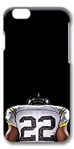 iPhone 6 Case, Ultra Slim Pattern Bumper for iPhone 6 Cover (4.7) American Football Player Back Ideas 3D iPhone 6 cases for Girls iphone 6 case hard PC Skin