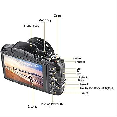 Cámara réflex Digital de 24 megapíxeles Tele HD Cámara CMR Sensor ...