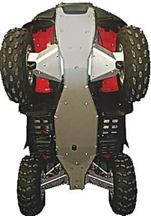 7 piezas Skid placa de aluminio completo, Honda Fourtrax ...