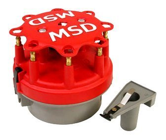 MSD Ignition 8414 Cap-A-Dapt Cap and Rotor