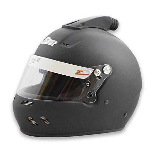 Zamp Racing Helmet - Zamp RZ-58 TOP AIR Snell SA2015 Helmet Matte Black X-Large