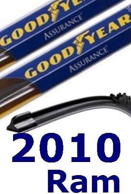 2010 Dodge Ram repuesto parabrisas limpiaparabrisas (2 cuchillas)