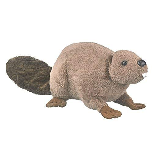 (Wildlife Artists Beaver Conservation Critters Plush Toy, Beaver Stuffed Animal)
