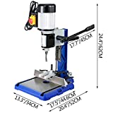 VEVOR Woodworking Mortise Machine 1/2 HP Powermatic Mortiser, With Heavy-Duty Cast-Iron Base Benchtop Mortising Machine, For Making Round Holes Square Holes, Or Special Square Holes In Wood