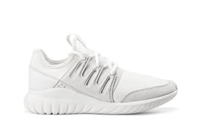 new arrival b3331 751f5 adidas Tubular Radial Mens in Crystal White by