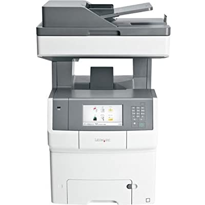Lexmark X740 X746DE Laser Multifunction Printer - Color - Plain Paper Print - Desktop - Copier/Fax/Printer/Scanner - 35 ppm Mono/35 ppm Color Print - 2400 x 600 dpi Print - 35 cpm Mono/35 cpm Color Copy - Touchscreen - 600 dpi Optical Scan - Automatic Dup