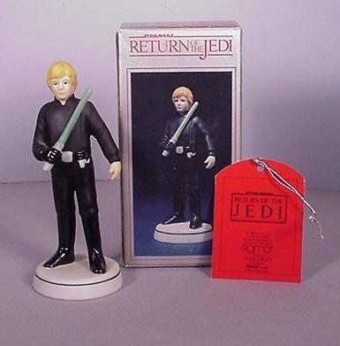 Star Wars ROTJ Luke Skywalker Figurine by Sigma Vintage 1983