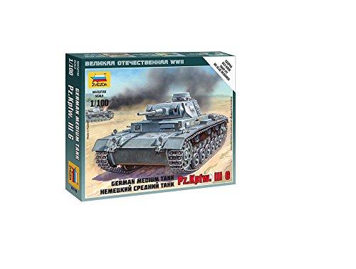 1/100 Germ Tank Panzer III Snap, new Tool