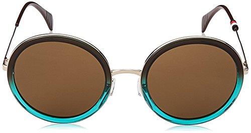 Tommy 53 70 de 1474 Unisex S TH Gafas Adulto Brwnshadegre Hilfiger Negro Azul Sol IYqYrwO