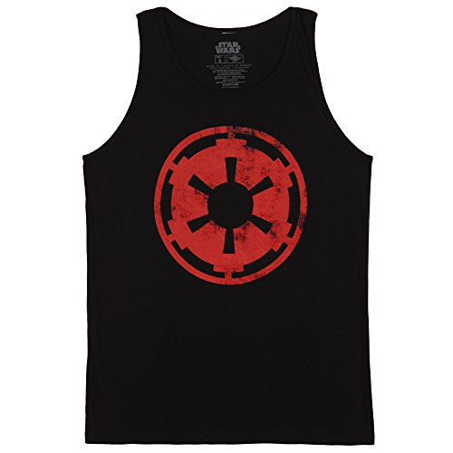 Star Wars Aging Galactic Empire Adult Tank - Black (Star Wars Tank Top)