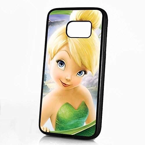 (for Samsung Galaxy S8) Durable Protective Soft Back Case Phone Cover - HOT11641 Tinkerbell
