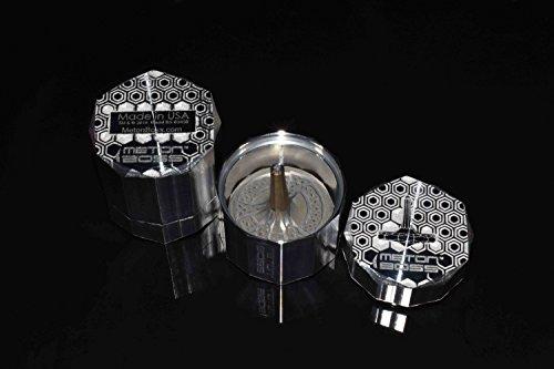 MetonBoss Peace Titanium Spinning Top - Aerospace Grade 5 Titanium (Anodized Golden Magenta) by MetonBoss (Image #6)
