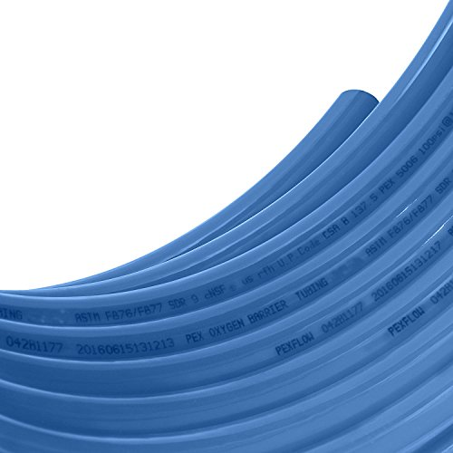 Pexflow PEX Potable Water Tubing - PFW-B34300 3/4 Inch X 300 Feet Tube Coil for Non-Barrier PEX-B Residential & Commercial Hot & Cold Water Plumbing Application (Blue) by PEXFLOW (Image #4)
