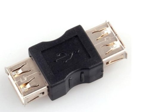 SANOXY USB 2.0 A Female to A Female Coupler Adapter for USB Cable